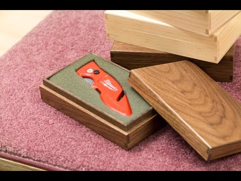 Making French Fitted Presentation Boxes