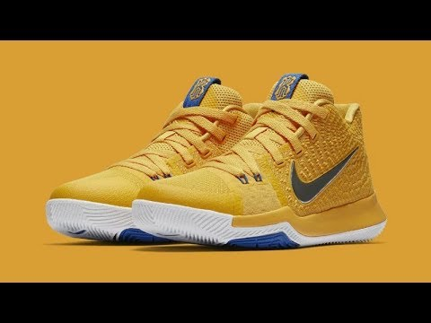 huge discount e394b 91159 NIKE KYRIE 3 UNBOXING AND REVIEW (MAC AND CHEESE EDITION COLOURWAY)