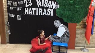 23 Nisan Gösterisi Tam Bir Şölene Dönüştü Çocuklar Çok Eğlendiler