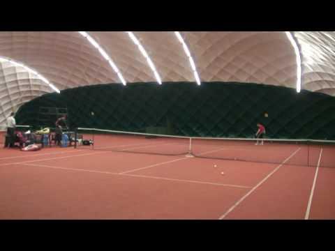 College tennis recruiting video David Musil