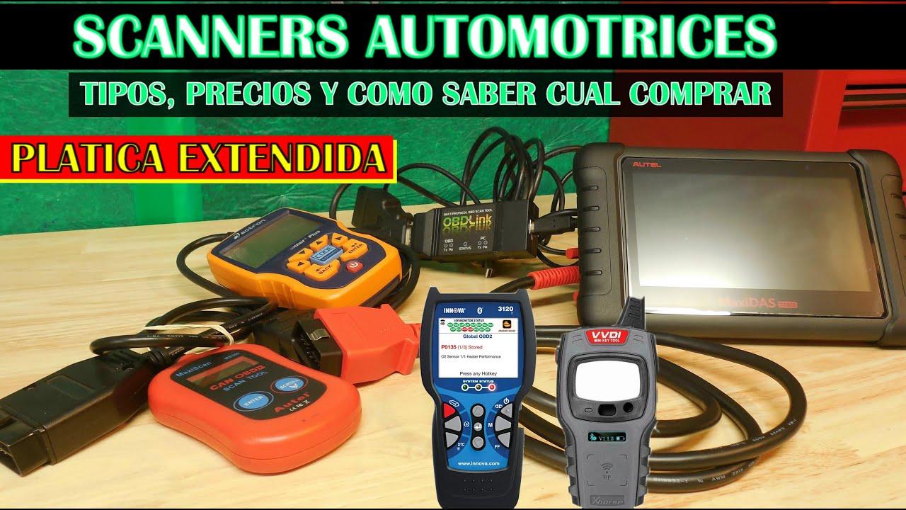 Todos los tipos y precios de Escaners y como saber cual comprar (Version completa )