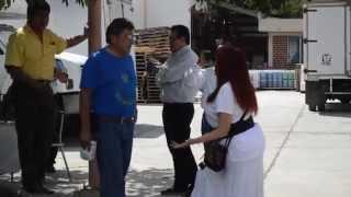 Layda Sansores ingresa a almacén del IMSS y confirma desperdicio de medicinas