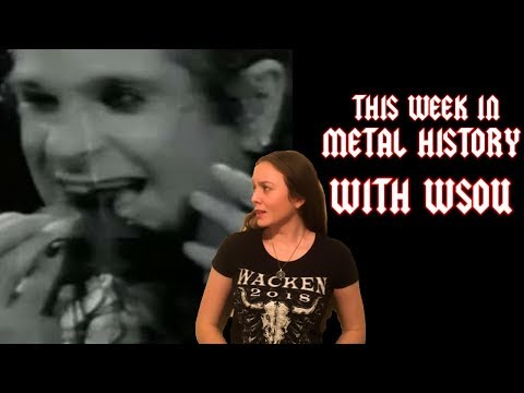 This Week in Metal History with WSOU, January 21, 2019