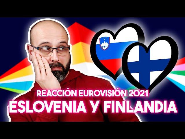 💜 REACCIÓN EUROVISIÓN 2021: ESLOVENIA Y FINLANDIA | La subred de Mario