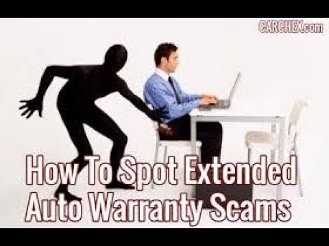 Extended Car Warranty Scam