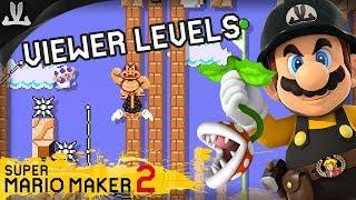 [LIVE] Super Mario Maker 2 | VIEWER LEVELS + Blind Kaizo Race