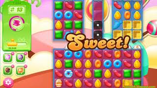 Candy Crush Jelly Saga Level 1384 (3 stars, No boosters)