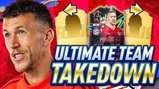 INSANE TRANSFERRED PERISIC TEAM TAKEDOWN! FIFA 19 Ultimate Team!
