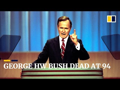 George HW Bush dead at 94