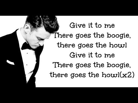Justin Timberlake - True Blood - ( The 20/20 Experience 2 of 2 ) Lyrics on Screen