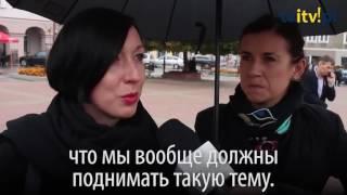 как женщины по всей Польше протестовали против запрета абортов