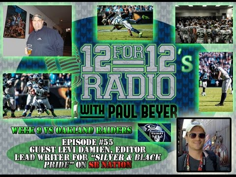 12 For 12s Radio EP #55 w/Guest Levi Damien of SB Nation