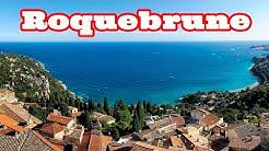 Рокбрюн. Лазурный берег. Roquebrune Cap-Martin, France
