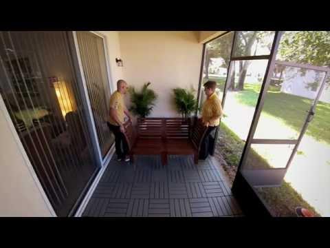 IKEA RUNNEN Outdoor Decking - IKEA Home Tour