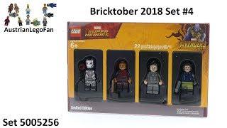Lego Avengers Infinity War Minifigures Pack - Bricktober 2018 #4 - Lego 5005256 Speed Build