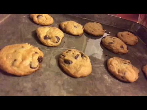 Baking Toll House Cookies in the Middle of the Night