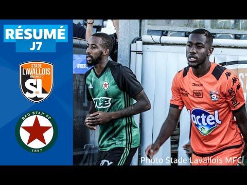 J7 : Stade Lavallois - Red Star FC (0-2),  le résumé | National FFF 2019-2020