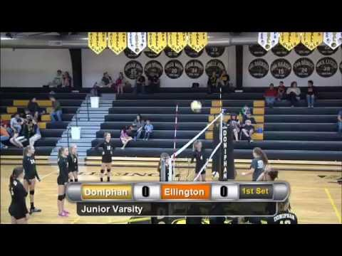 Doniphan vs Ellington Volleyball
