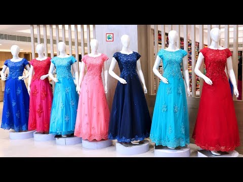 Latest  Women Simple Party Wear Gown Collections With Price RS=1700