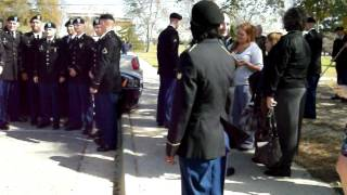Fort Jackson, South Carolina, Company D, Second Platoon, 187th graduation March 8, 2012