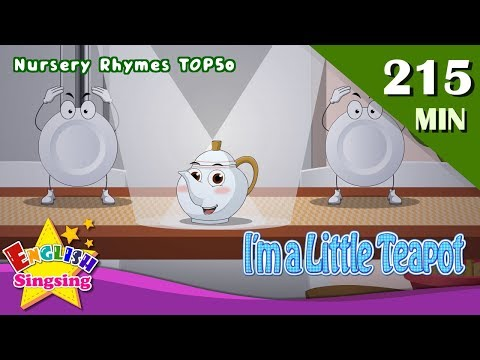 I'm a Little Teapot + More FUN Songs | Top 50 Nursery Rhymes with lyrics | English kids video