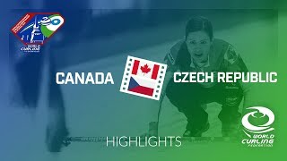 HIGHLIGHTS: Canada v Czech Republic - Last 16 - World Mixed Doubles Curling Championship 2018