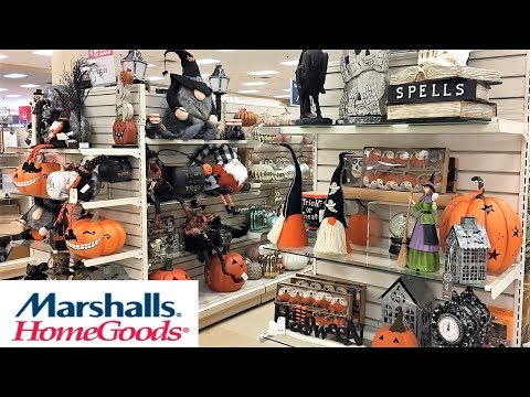 MARSHALLS HOME GOODS HALLOWEEN DECORATIONS HOME DECOR - SHOP WITH ME SHOPPING STORE WALK THROUGH 4K