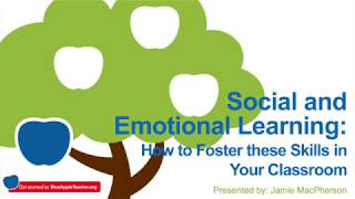 Social and Emotional Learning: How to Foster these Skills in Your Classroom