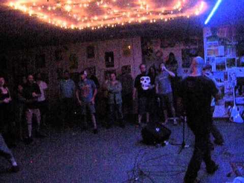 "Children In Heat ~ ""Horror Business"" (The Misfits) live @ Dead Wax Records, Lenoir, NC 05/10/2014"
