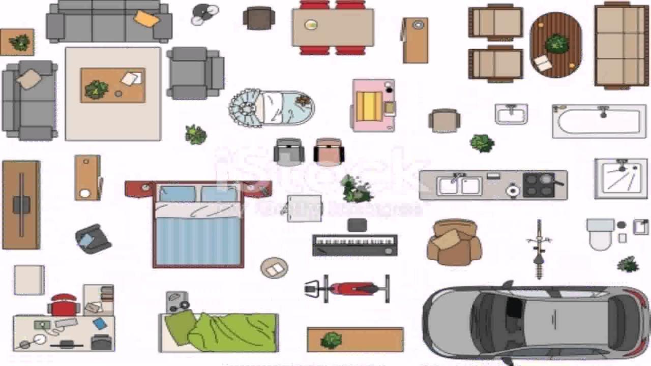Floor Plan Icons Vector Free See Description Youtube