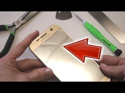 How to Fix a Cracked Cell Phone Screen and Digitizer - Cheap DIY
