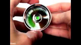 53mm30mm Aluminum TexturedOP Reflector-DealExtreme