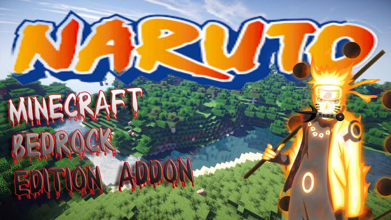 NARUTO CRAFT   ADDON   minecraft bedrock edition