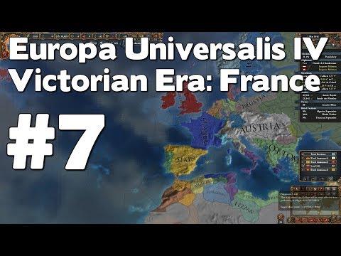 Let's Play EU4 Victorian Era France (Europa Universalis IV Extended Timeline Mod Playthrough) #7