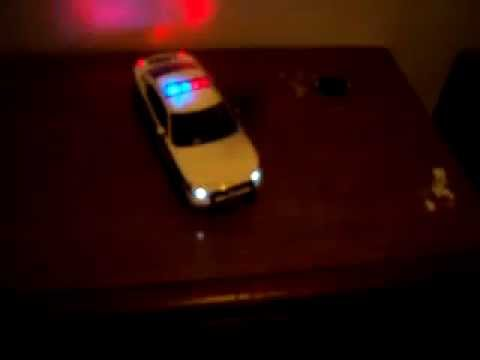1:18 Dodge Charger R/T PALM BEACH COUNTY SHERIFF WORKING LIGHTS!!! COMPLETE!!