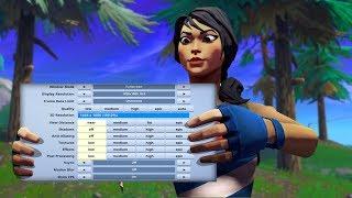 Atlantis Flikk's *PRO* Fortnite settings & res!