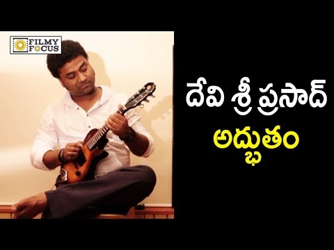 Devi Sri Prasad Playing Mandolin : DSP Rocking Performance - Filmyfocus