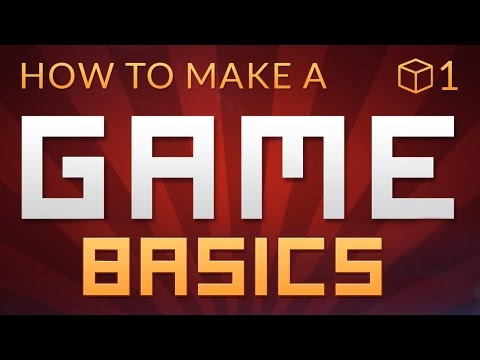 How to make a Video Game in Unity - BASICS (E01)