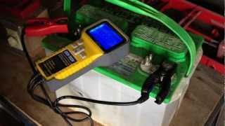 Lead Acid Battery Desulfation Using Epsom Salt  -Attempting to use Capacitive Charger  Part 5 of 6
