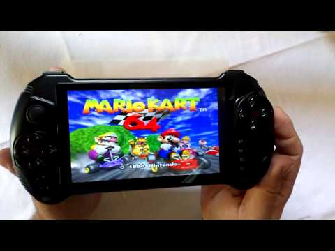 Powkiddy X15 Android Game Player - Games PSP, PS1, N64, Arcades, GBA, PCE, NDS, Android