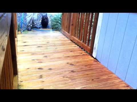 TPS Deck Cleaning