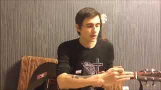 Как поздравить девушку с 8 марта - Ярослав Сафронов (Видео Урок Как Играть На Гитаре) Разбор