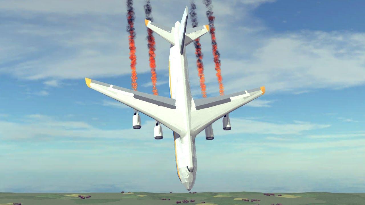 Airplane Crashes & Shootdowns #42 | Besiege