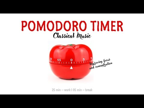 Pomodoro Study Timer - Improve Focus and Concentration with Classical Music
