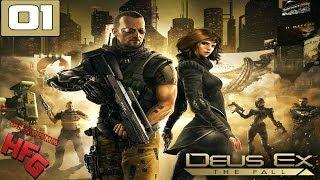 "Deus Ex The Fall PC Walkthrough - Part 1 ""Prologue"" Playthrough Gameplay"
