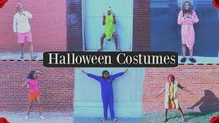 Last Minute Halloween Costume Ideas 2016 (6 Costumes)