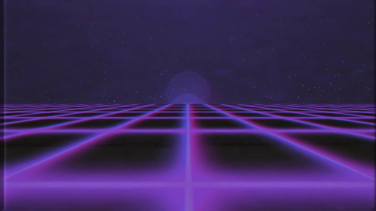 3d Moving Galaxy Wallpaper The Grid Retro Tapes No 2 Youtube