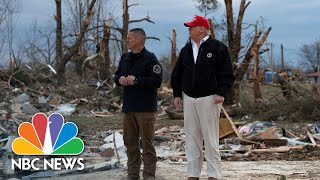 ''This Is Real Devastation': Trump Tours Tornado Damage In Tennessee | NBC News