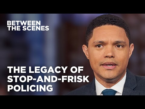 A Look Back at The Legacy of Stop-and-Frisk in New York City - Between the Scenes | The Daily Show
