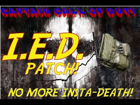 """I.E.D."" PATCH!!! NO MORE INSTANT DEATH! UPDATES TO THE PLAYLISTS!"